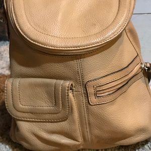 Tignanello Leather Bag -Backpack